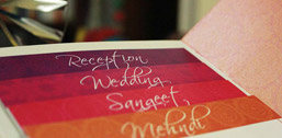 Stylish wedding invitations by 3Production Weddings - Wedding planner in Bangalore