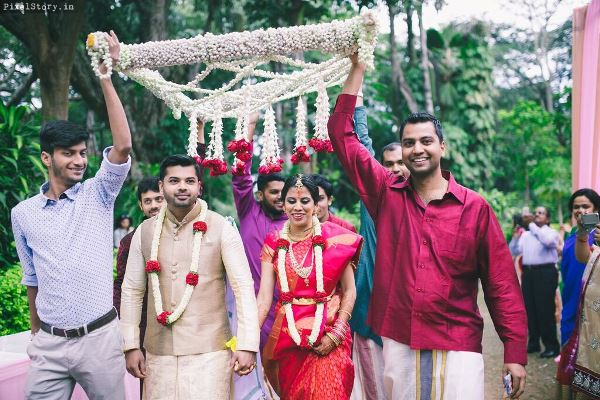 bridal-entry-Best Wedding Planners Bangalore